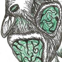 Mr. Muuu ou Christina Casnellie? Desenho de João Paulo Nóbrega publicado no <em><strong>Futuro Primitivo</strong></em> (Chili Com Carne; 2011)