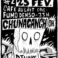 Cartaz de Rafael Gouveia para Ghunagangh.
