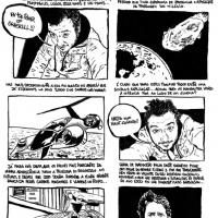 """Página 1 de bd de David Campos em """"Destruição ou bd's sobre como foi horrível viver entre 2001 e 2010"""""""
