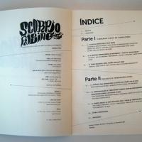 """Interior de <em><a href=""""http://www.chilicomcarne.com/index.php?page=shop.product_details&amp;flypage=flypage-ccc.tpl&amp;product_id=258&amp;category_id=40&amp;option=com_virtuemart&amp;Itemid=77"""">Scorpio Rising : Transgressão juvenil, Anjos do Inferno e Cinema de Vanguarda</a></em>&#160;(de Ondina Pires, col. THISCOvery CCChannel #-1), design João Cunha"""