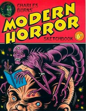 Charles-Burns-Modern-Horror-Sketch-Book-Kitchen-Sink